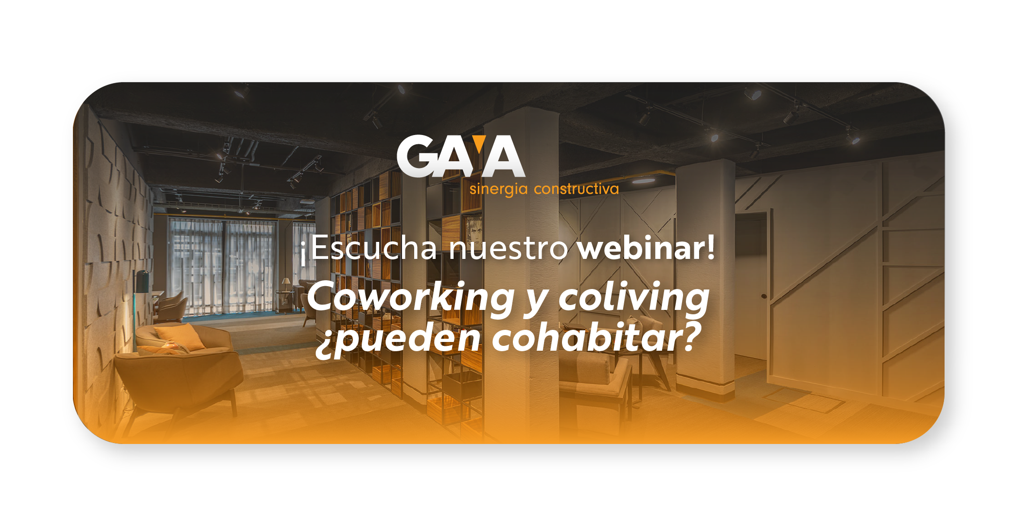 Coworking y Coliving